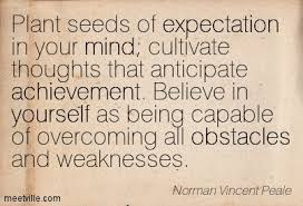 Planting Seeds Of Expectation